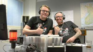 AKK:n Jari Vesa ja Tommi Reponen.