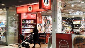 BR-Lelujen myymälä Kampin kauppakeskuksessa