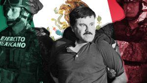 Huumepomo El Chapon oikeudenkäynti on käynnissä New Yorkissa.