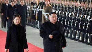 Kim Jong Un ja Ri Sol Ju