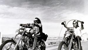 Dennis Hopper ja Peter Fonda elokuvassa Easy Rider