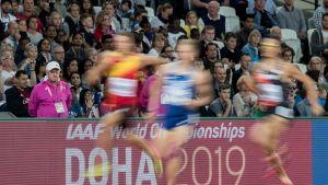 Yleisurheilu Doha kuvitus