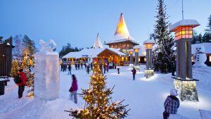 Joulupukin Pajakylä Rovaniemellä.