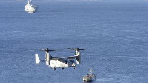 Naton Trident Juncture 18 -harjoitus Norjassa 30. lokakuuta 2018.