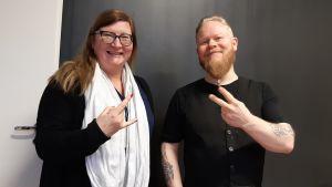 Kati Klaavuniemi ja Mikko Anttila.