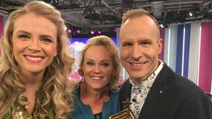 Susanna Laine, Sirpa Selänne ja Mikko Kekäläinen.