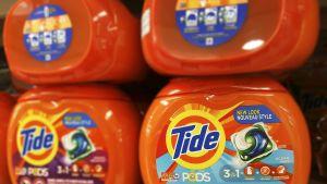Tide Pod -pesuainepakkauksia