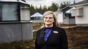 Santa's Igloos iglupäällikkö Tanja Ahven-Posio