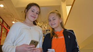 Della McLeod ja Ella Järvi.