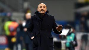 Interin valmentaja Luciano Spalletti tammikuussa 2019.