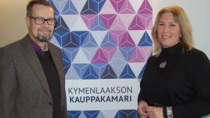 Kymenlaakson kauppakamarin uutena toimitusjohtajana aloittaa Marika Kirjavainen. Kauppakamarin puheenjohtajana jatkaa Sakari Pasanen