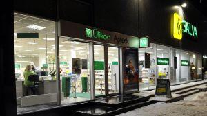 Yliopiston apteekin myymälä Tartossa.