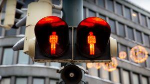 jalankulkijan punaiset valot