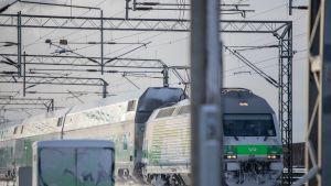 Junaliikenne VR juna
