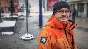 Yrittäjä Paavo Koistinen.