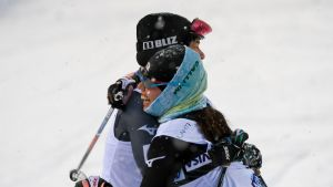 Naisten yhdistetty oli ohjelmassa ensimmäistä kertaa nuorten MM-kisoissa, ja kaksi historiallisista mitaleista meni Japaniin.