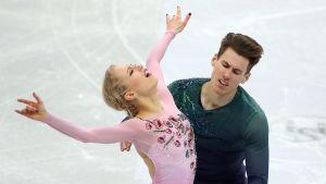 Juulia Turkkila ja Matthias Versluis Minsk