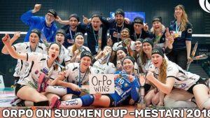 OrPo juhlii Suomen cupin voittoa