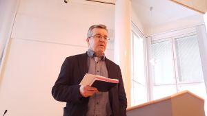 Taipalsaaren kunnanjohtaja Kari Kuuramaa