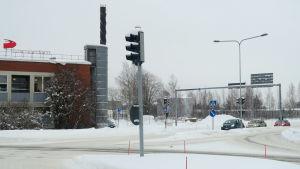 Pohjantähti-vakuutusyhtiön viereinen tontti Hämeenlinnassa
