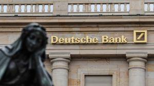 Deutsche Bankin konttori Frankfurtissa