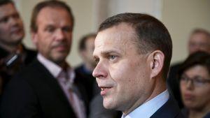 Valtiovarainministeri, kokoomuksen puheenjohtaja Petteri Orpo