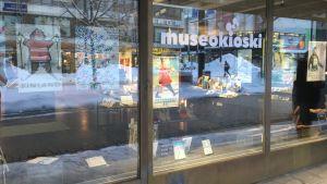 Museokioski avattiin Lahdessa Aleksanterinkatu 10 ssä keskiviikkona 6.helmikuuta