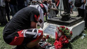 Rio de Janeiro Flamengo FC onnettomuus