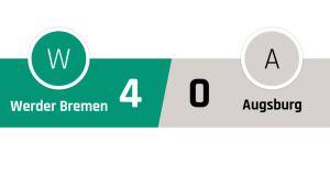 Werder Bremen - Ausburg 4-0
