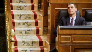 Espanjan pääministeri Pedro Sanchez.