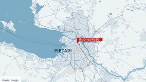 Pietarin kartta