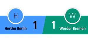 Hertha Berlin - Werder Bremen 1-1