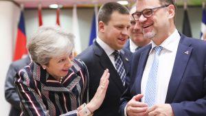 Theresa May ja Juha Sipilä