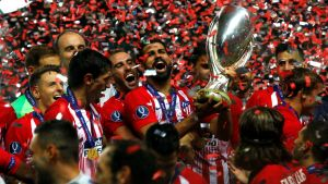 Atletico Madrid Super Cup 2018