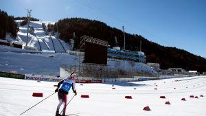 Seefeldin MM-hiihtojen maalialue