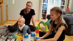 Elena Reshetko ja lapset