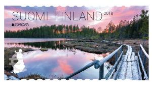 Suomen kaunein postimerkki 2018.