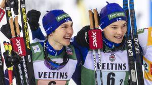 Ilkka Herola ja Eero Hirvonen