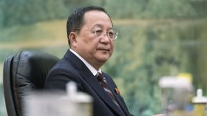 Pohjois-Korean ulkoministeri Ri Yong Ho.