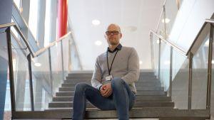 Siilinjärven Ahmon koulun rehtori Heikki Pulkkinen