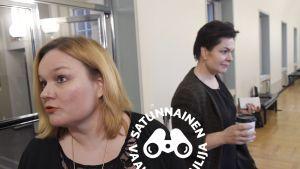 Krista Kiuru ja Hanna-Kaisa Heikkinen.