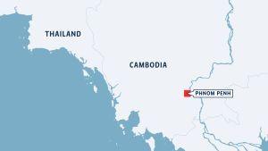 Cambodia map
