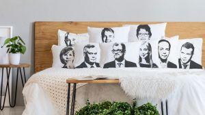 Vaaliveikkaus tyynyliinat