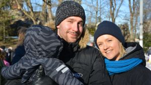 Jonas Möller ja Ada Selänniemi.