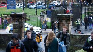 Pommipaketti säikäytti Glasgow'n yliopistossa keskiviikkona.