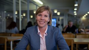 Ruotsalaisen kansanpuolueen puheenjohtaja Anna-Maja Henriksson