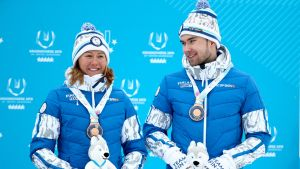 Katri Lylynperä ja Joonas Sarkkinen