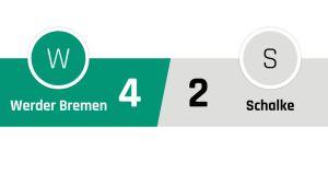 Werder Bremen - Schalke 4-2