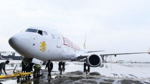 Onnettomuudessa tuhoutunut Boeing 737 MAX 8 -kone