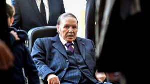 Algerian presidentti Abdelaziz Bouteflika.